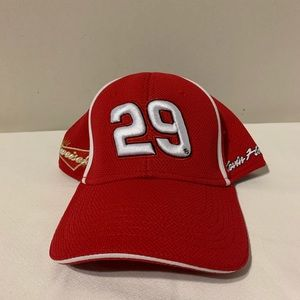 NASCAR Chase Authentics Budweiser #29 Hat
